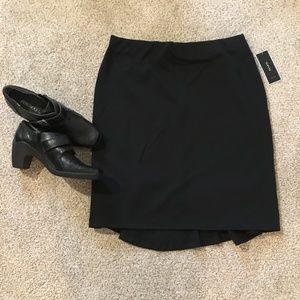 NWT Alfani black skirt